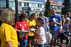 Deti vyrazili v nedeľu ráno z Košíc.