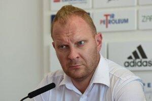 Marek Ondrejka, generálny manažér futbalových Zlatých Moraviec.