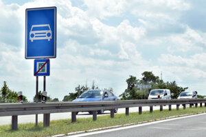 Úsek Košice - Šaca od apríla nie je rýchlostná cesta, ale cesta prvej triedy.
