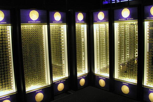 Košický zlatý poklad vo Východoslovenskom múzeu.
