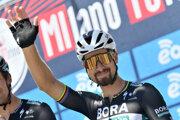 Peter Sagan pred štartom pretekov Miláno - Turín.