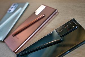 Samsung Galaxy Note20 a Note20 Ultra 5G