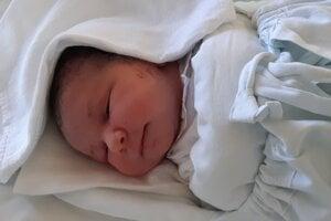 Rebeka Harabová (3650 g, 51 cm) sa narodila 6. júla. Tešia sa z nej šťastní rodičia Martina a Jozef Harabovci a braček Maťko z Pukanca.