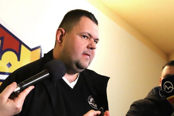 Športový riaditeľ a po novom aj tréner klubu HC Košice Jan Šťastný.