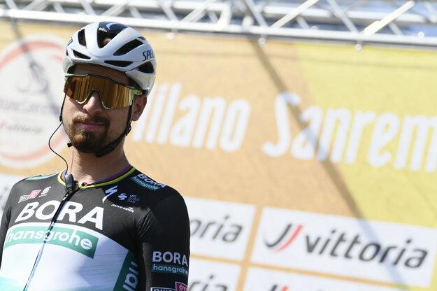 Peter Sagan na Miláno - San Remo 2020.