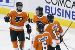 Hokejisti Philadelphie Flyers.