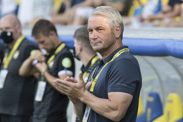 Tréner DAC Bernd Storck.