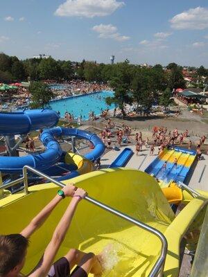 Adrenalínové zážitky v Thermalparku Dunajská Streda