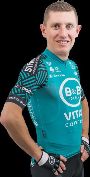 Cyril Gautier, cyklista, tím B&B Hotels - Vital Concept p/b KTM
