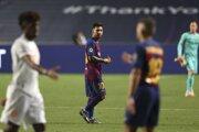 Lionel Messi v zápase FC Barcelona - Bayern Mníchov.