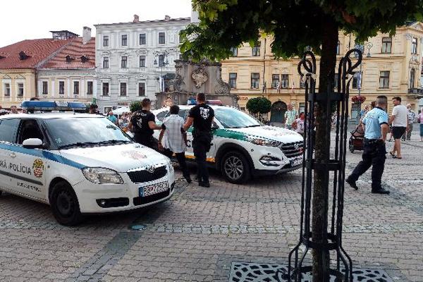 Na mieste zasahovala mestská aj štátna polícia.