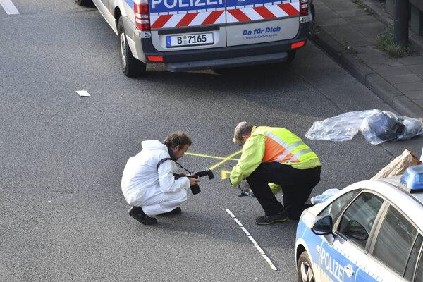 Vyšetrovanie incidentu na diaľnici v Berlíne.