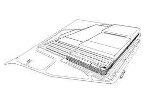 Vizualizácia novej fabriky.