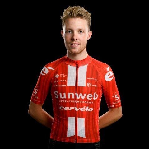 Jasper Pedersen, cyklista, tím Team Sunweb