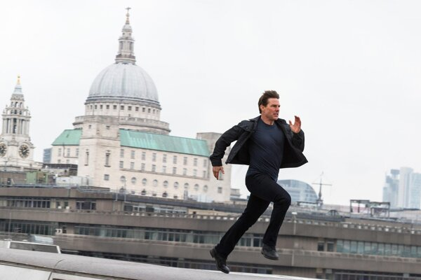 Tom Cruise v Mission Impossible.