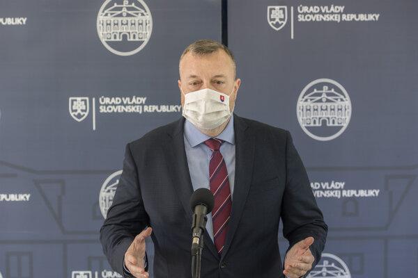 Minister práce, sociálnych vecí a rodiny SR Milan Krajniak.