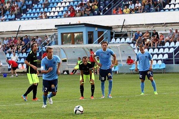 Matúš Paukner otváral skóre z penalty.