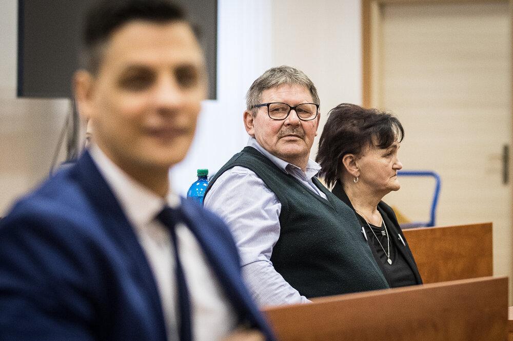 14. január 2020. Jozef a Jana Kuciakovci počas hlavného pojednávania