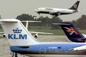 Londýnske letisko Stansted.