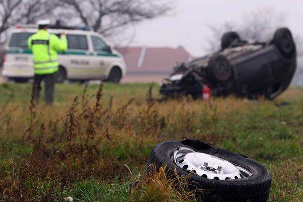 Vlani zomrelo pri dopravných nehodách 296 ľudí.