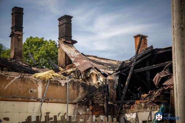 Požiar domu v Matejovciach.