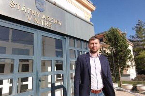 Peter Keresteš, historik a riaditeľ Štátneho archívu v Nitre.