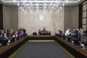 Rokovanie vlády v Bratislave 16. septembra 2020.