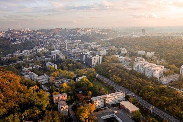 Lokalita, v ktorej vyrastie nové sídlo Esetu.