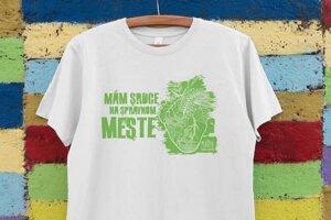 Dobrovoľnícke tričká podujatia Naše Mesto 2020