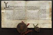 Veľké privilégium udelené v roku 1347 pre Košice.