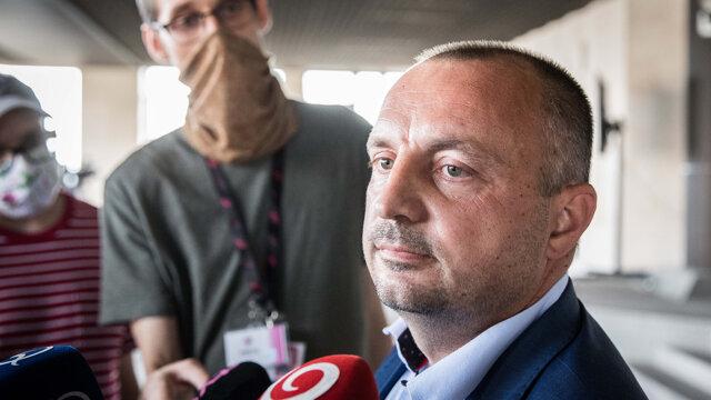Bývalý štátny tajomník a dnes už poslanec Lukáš Kyselica.