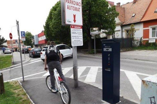 Parkovacie automaty nevydávajú.
