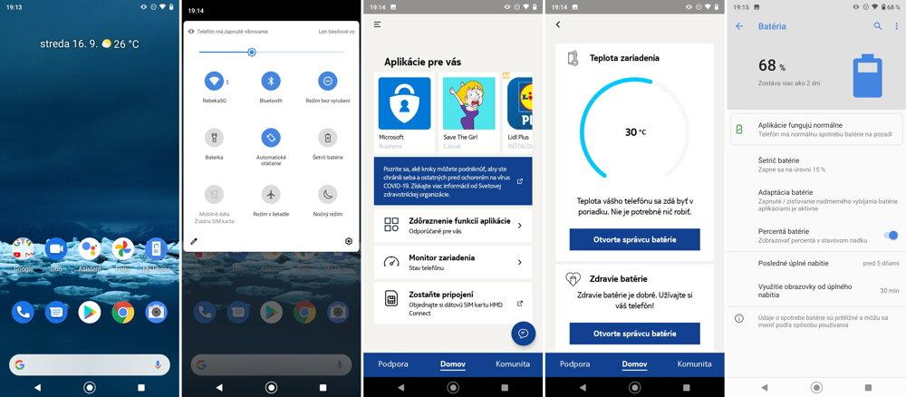 Nokia svoj systém nezahlcuje zbytočnosťami.
