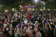 Protesty v Thajsku pokračovali.