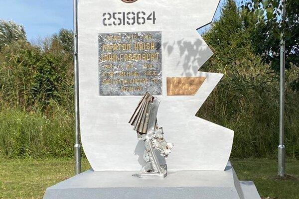 Zrekonštruovaný pomník.