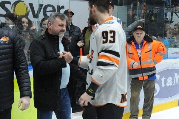 Marek Michajlo (vľavo).