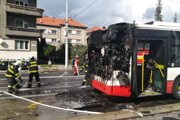 Oheň hasiči rýchlo uhasili.