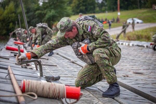 Výcvik aktívnych záloh.