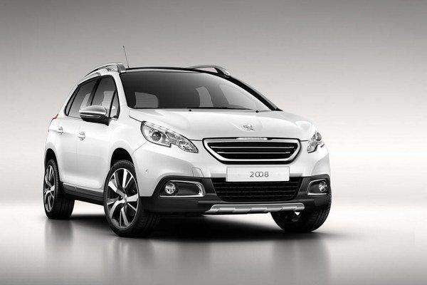 Peugeot 2008 bude dostupný výhradne s pohonom prednej nápravy.