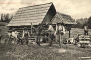 Na začiatku 20. storočia si liptovskí pastieri hrali a tancovali sami pre seba, nie pre publikum.