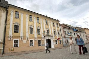 Dom na Lazovnej ulici, kde žila s manželom Jánom Korponayom.