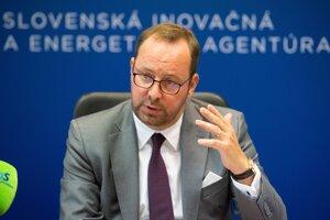 Generálny riaditeľ Slovenskej inovačnej a energetickej agentúry Peter Blaškovitš