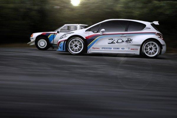 Rely vozidlo - Peugeot 208 T16 triedy R5 bude súčasťou expozície značky v Ženeve.