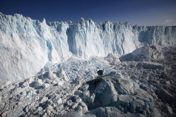Grónsko do konca storočia čaká obrovský úbytok ľadovej pokrývky.