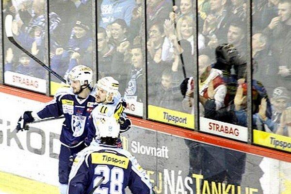 Nitrianski hokejisti aj fanúšikovia sa môžu tešiť na Ligu majstrov.