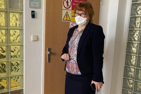Regionálna hygienička Ľudmila Bučková