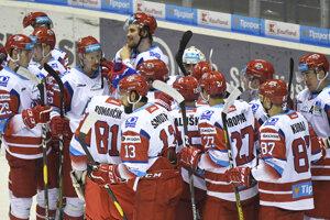 Hokejisti MHk 32 Liptovský Mikuláš.