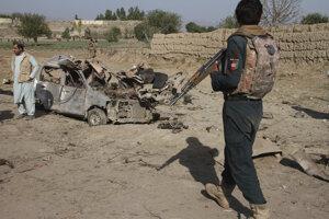 Útok v Afganistane - ilustračná fotografia.