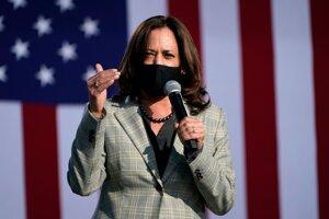 Kalifornská senátorka Kamala Harrisová.