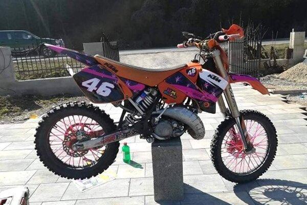 Ukradnutá motorka